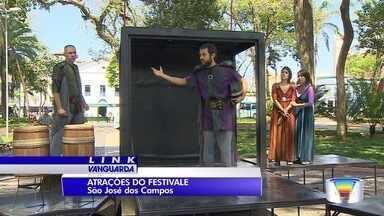 Esse é o último fim de semana do Festivale em São José - Tem espetáculo de rua e nos palcos.