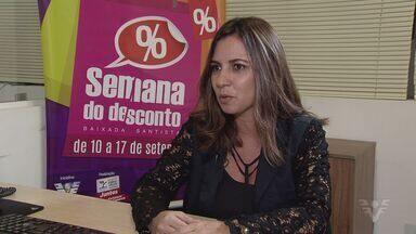 Semana do Desconto começa neste sábado na Baixada Santista - Esta é a quarta vez que a ação ocorre na região.