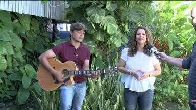 Cantora Eliana Ribeiro se apresenta pela primeira vez em Maceió - Show gospel faz parte de projeto social.
