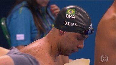 Confira as notícias do terceiro dia da Paralimpíada 2016 - Daniel Dias se classificou em segundo, sendo o terceiro melhor tempo para a final dos 50m nado borboleta S5. Lucas Prado avança para a semifinal dos 100m rasos.