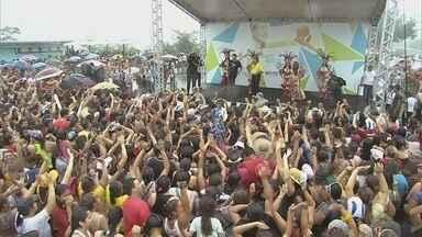 Serviços de saúde e lazer levam multidão à Ponta Negra em Manaus - Diversos atendimentos médicos são oferecidos ao público.