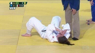 Alana Martins conquista medalha de prata no Judô na Paralimpíada - Alana Martins conquista medalha de prata no Judô na Paralimpíada