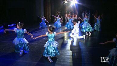 Crianças dão show na Semana Maranhense de Dança em São Luis - Crianças dão show na Semana Maranhense de Dança em São Luis