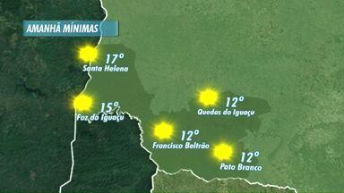 Domingo vai ser de sol na fronteira e no sudoeste - Minimas serão altas para aproveitar o domingo.