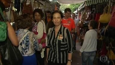 Carmen Migueles (Partido Novo) faz campanha na Tijuca - Carmen Migueles (Partido Novo) faz campanha na Tijuca.