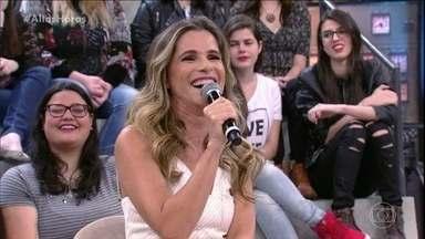 Ingrid Guimarães comenta sucesso no cinema - Confira!
