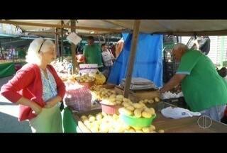 Inflação recua em agosto e preços caem nas feiras em Petrópolis, no RJ - Fazer as compras ficou mais barato.