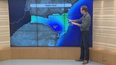 Veja como fica o tempo em Santa Catarina ao longo desta quinta-feira (15) - Veja como fica o tempo em Santa Catarina ao longo desta quinta-feira (15)