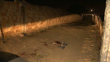 Bandidos fazem arrastão em escola na zona rural de Puxinanã - Um dos professores, que também é policial civil, reagiu ao assalto e atirou num bandido.