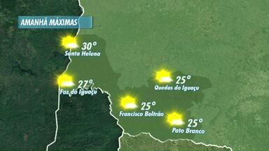 Sexta feira deve ser de calor na região - Veja a previsão no mapa