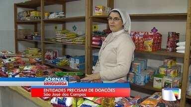 Caem doações a entidades assistencias da região; ajude - Crise pode estar relacionada à crise econômica.