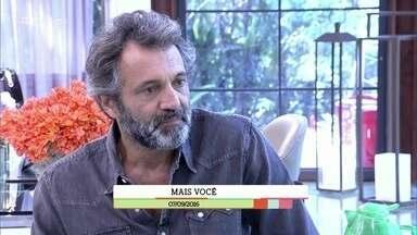 'É de Casa' relembra participação de Domingos Montagner no 'Mais Você' - Zeca Carmargo mostra imagens da reportagem que fez no rio São Francisco