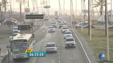 Veja imagens do trânsito na LIP e nas avenidas Octávio Mangabeira e ACM - Confira no Radar do JM.
