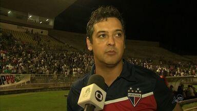Saída de Marquinhos Santos do comando do Fortaleza é um dos destaques do bloco esportivo - Saiba mais em globoesporte.com/ce.