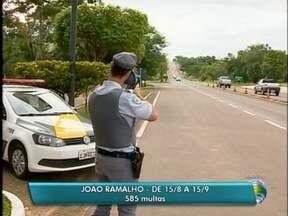 Número de multas aplicadas por radares da Nova Alta Paulista é divulgado - Segundo o balanço da Polícia Rodoviária, foram mais de mil autuações.
