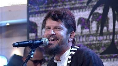 Saulo comenta apresentação no encerramento da Paralimpíada - Cantor e altetas paralímpicos comentam a festa, que teve muita música e mistura de ritmos brasileiros