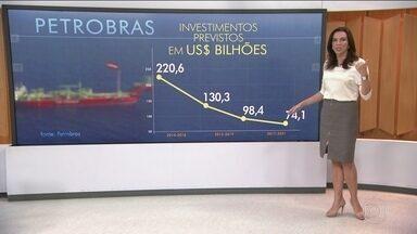 Petrobras pode baixar preço da gasolina até o fim do ano - Atualmente a gasolina no Brasil está 20% mais cara em relação ao mercado internacional, e o diesel 40%. O último aumento no setor foi em setembro de 2015. Para alinhar a política de preços, a empresa está enxugando investimentos desde o início da Lava Jato para compensar os prejuízos com a corrupção. E, nos próximos 5 anos, o corte será de 25%.