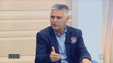 Confira entrevista com Elson Pereira, candidato à prefeitura de Florianópolis - Confira entrevista com Elson Pereira, candidato à prefeitura de Florianópolis