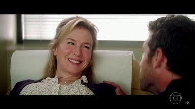 Novo 'Bridget Jones' é romance clichê com protagonista cativante - Em 'O bebê de Bridget Jones', a heroína atrapalhada perde peso e ganha autoestima no 3º filme da franquia. Leve e despretensioso, o longa diverte com narrativa atual e galã carismático.