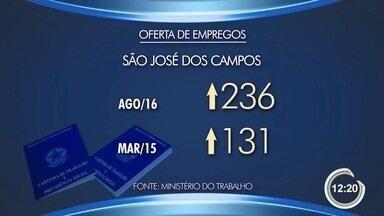 Após 16 meses, emprego em São José fecha no positivo - Indústria puxou alta do emprego, segundo Caged.