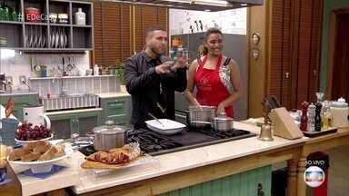 Aprenda a fazer o feijão verde à moda nordestina - Carol conta que sua paixão pela cozinha vem de família