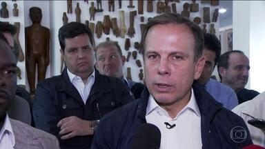 Veja como foi o último dia de campanha de João Dória, do PSDB, candidato a prefeito - Veja como foi o último dia de campanha de João Dória, do PSDB, candidato a prefeito