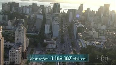 Rio é uma das cidades com o maior número de abstenções nas eleições municipais - O número de abstenções supera o de votos do candidato que ficou em primeiro lugar
