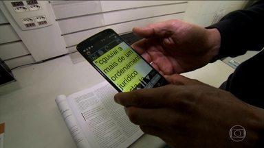Instituto para cegos ajuda alunos a conhecer o mundo através da tecnologia - A indústria investiu em equipamentos de leitura para quem tem baixa visão.