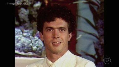 Relembre a carreira de Caíque Ferreira no 'Memória Nacional' - Ator, que morreu aos 39 anos, é homenageado pelo 'Vídeo Show'