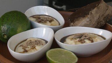 Aprenda a fazer mousse de cachaça - Quem ensina é o chef Ugo César, de Juazeiro.