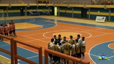 Moto Club joga pela Liga Nacional Feminina de Handebol no Castelinho (MA) - Moto Club joga pela Liga Nacional Feminina de Handebol no Castelinho (MA)