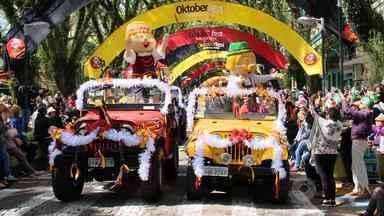 Oktoberfest celebra cultura alemã em Santa Cruz do Sul e Blumenau - Assista ao vídeo.