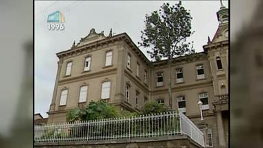 Memória MGTV relembra a arquitetura das escolas cristãs em Juiz de Fora - Colégio Academia do Comércio revive as formas romanas. Colégio Metodista Granbery resgata o estilo neoclássico americano.
