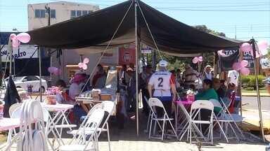 Grupo de idoso se reúne em Ponta Porã para comemorar a vida - Feira teve culinária, música e muita dança.