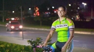 """Amazonense troca o futebol pelo ciclismo e colhe """"bons frutos"""" - Rebeca Fonseca será uma das participantes da 24ª Corrida Ciclística Amélia Archer Pinto, que ocorre no dia 12 de novembro."""