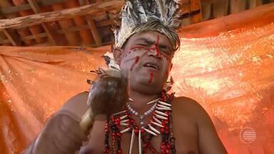 Índios da tribo Tabajaras Tucuns mantêm viva a tradição na cidade de Piripiri - Índios da tribo Tabajaras Tucuns mantêm viva a tradição na cidade de Piripiri