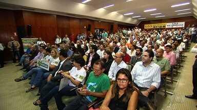 Audiência pública fala sobre bacia do Rio Araguaia, em Goiânia - Encontro aconteceu na Assembleia Legislativa do Estado de Goiás.