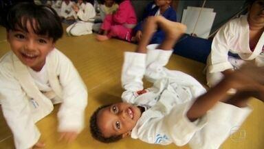 Série mostra como transformar o esporte em brincadeira para as crianças - Especial para o dia das crianças terá três episódios.
