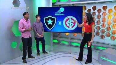 Márcio Chagas e Diogo Olivier analisam derrota do Inter para o Botafogo - Assista ao vídeo.