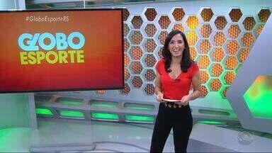 Globo Esporte RS - Bloco 1 - 13/10 - Assista ao vídeo.