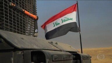 Iraque lança ofensiva para retomar Mossul do Estado Islâmico - As forças do governo iraquiano partiram da capital Bagdá e contam com a ajuda de guerrilheiros curdos, que controlam o norte do país. Mossul é uma cidade estratégica. Há 2 anos os terroristas controlam a cidade de 1,5 milhão de habitantes.
