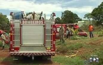 Dois homens morrem ao cair em cisterna no Jardim Itaipu, em Goiânia - Bombeiros dizem que vítimas pretendiam aprofundar poço quando caíram.