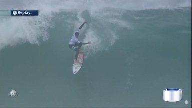 Miguel Pupo é o único surfista da região no Mundial de Surf em Portugal - Filipinho Toledo e Gabriel Medina foram eliminados da etapa de Portugal.
