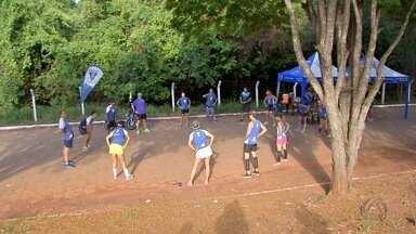 Parte do Parque dos Poderes é interditada para prática de esportes - A partir deste sábado, moradores de Campo Grande ganharam mais uma opção de lazer aos fins de semana e feriados.