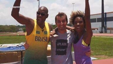 Parte 3: Confira mais um desafio do 'Zappirando' - Moacyr Massulo supera expectativa em salto com vara.