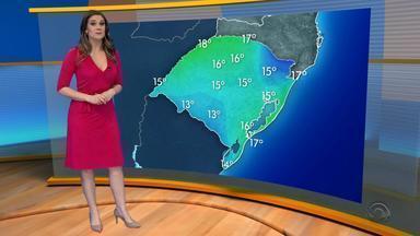 Tempo: domingo (23) será de sol na maior parte do dia mas pode chover - Assista ao vídeo.