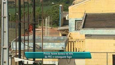 Mais uma fuga é registrada na PEC, em Cascavel - Seis presos fugiram. Dois apenas foram recapturados.