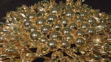 Com baixa no mercado, fabricantes de joias investem em exclusividade de pedras brasileiras - Com baixa no mercado, fabricantes de joias investem em exclusividade das pedras brasileiras