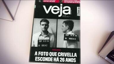 Revista Veja publica reportagem sobre prisão de Marcelo Crivella em 1990 - Revista Veja publica reportagem sobre prisão de Marcelo Crivella em 1990.