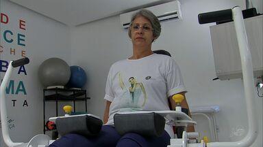 Expectativa de vida do brasileiro subiu para 75 anos - É cada vez mais comum ver idosos em academias.